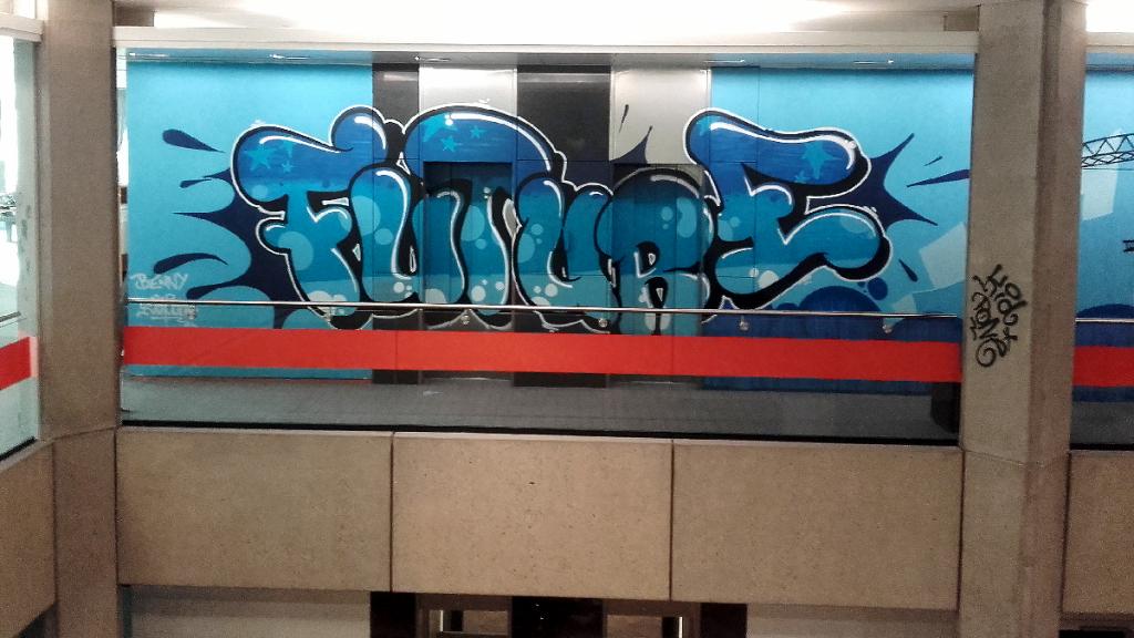KidPone graffiti