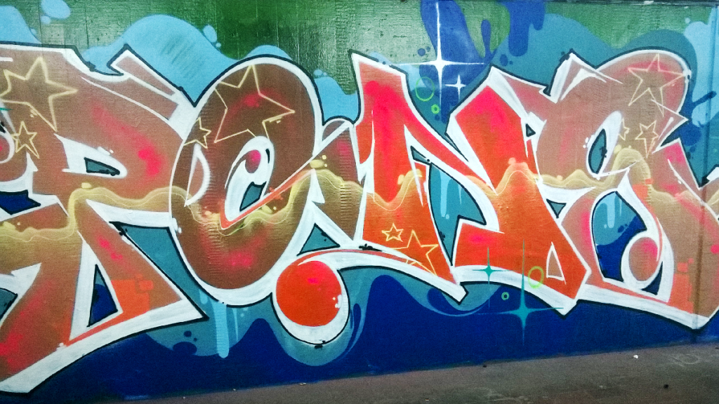 KidPone graffiti